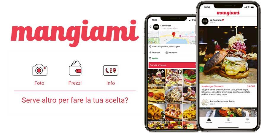 Ristorante Sociale su app mangiami